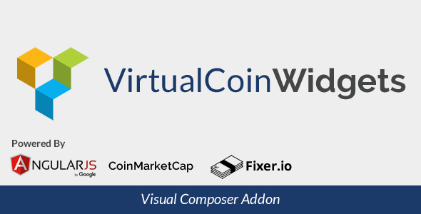Virtual Coin Widgets For Visual Composer