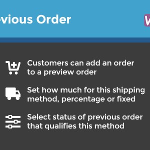 WooCommerce Add To Previous Order