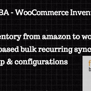 WooCommerce FBA Inventory Sync