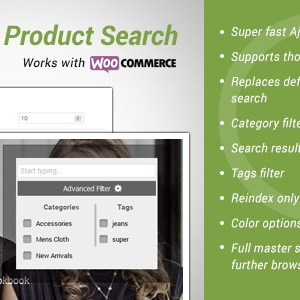 Advance Products Search for wooCommerce