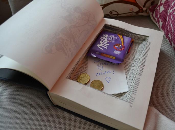 DIY Buch mit Geheimfach basteln  einfach selbermachen