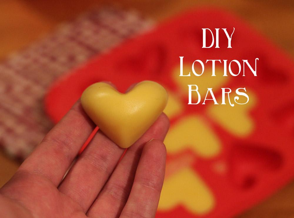 DIY  Lotion Bars selbermachen  Kosmetik DIY  trockene Haut