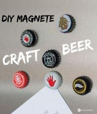 DIY Kronkorken Magnete - Geschenkidee fr Craft Beer Fans