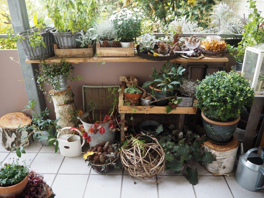 Garten Im Winter Dekorieren Terrasse Balkon 39terrasse Am Haus Und