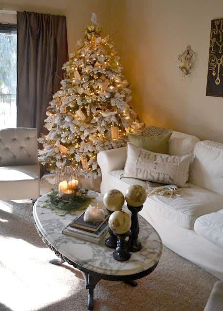 Weihnachtsbaum Schmücken  10 Inspirationen