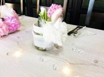 Vše v dekoru romantiky a diamantové svatby