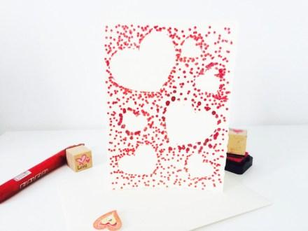 Hotové valentýnské přáníčko