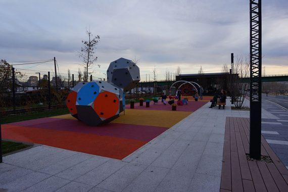 moderno igralište