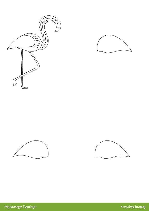 33 Flamingo Kopf Vorlage - Besten Bilder von ausmalbilder