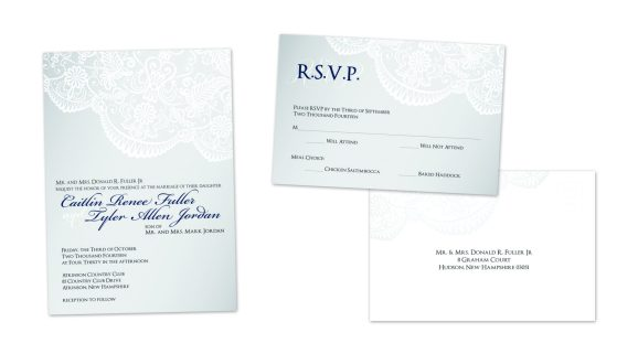 Wedding Invite | Wedding RSVP Postcard