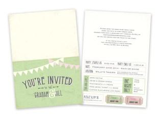 """""""Graham"""" & Jill Invite"""