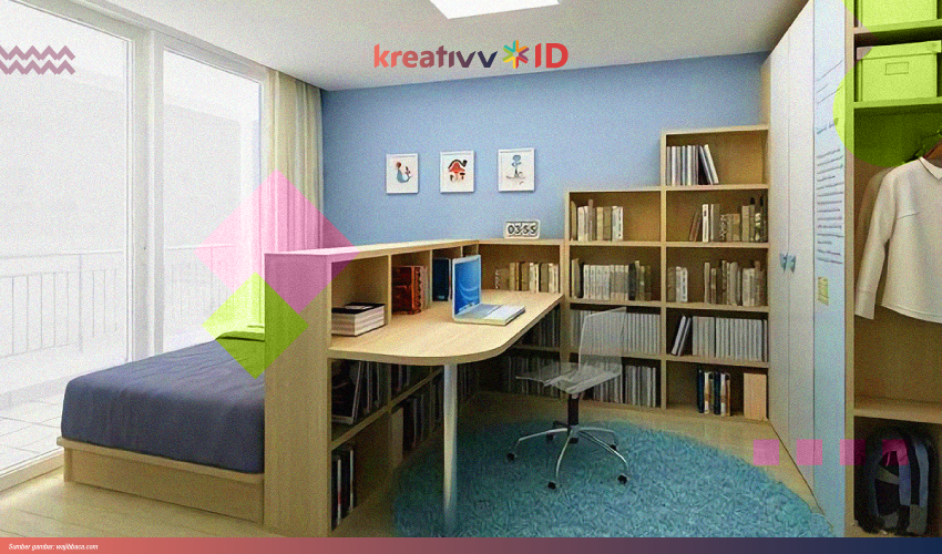 8 Tips Dekorasi Kamar Menjadi Ruang Kerja Yang Nyaman Kreativv Id