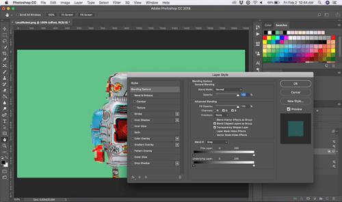 Cara Membuat Efek Glitch di Adobe Photoshop 4