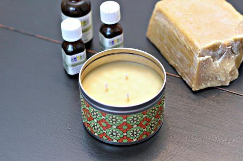 cara membuat lilin aromaterapi 3