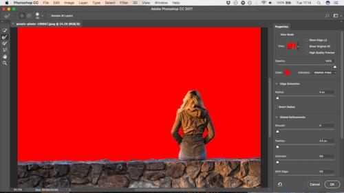Cara mengganti background foto dengan Photoshop 4