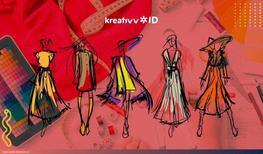 belajar desain baju