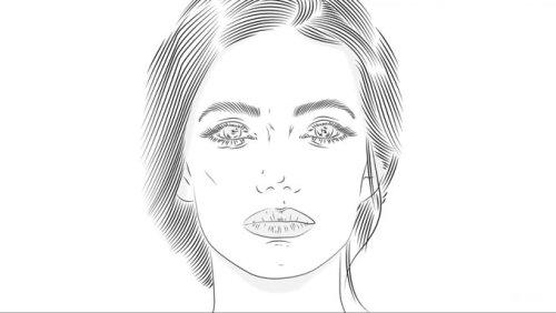 tutorial gambar garis 4