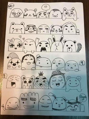 cara membuat doodle