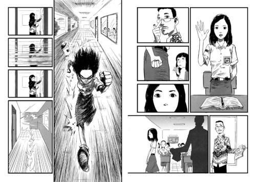 excuse me silent manga audition