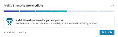 Profil LinkedIn 1