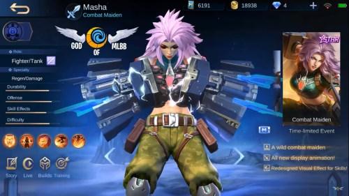 Skin mobile legend 1
