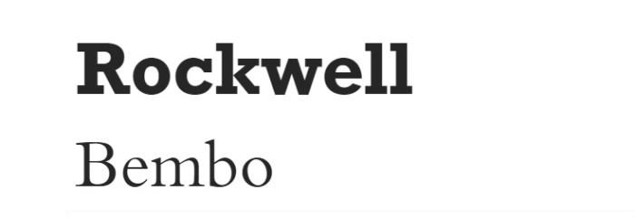 font-rockwell-bembo