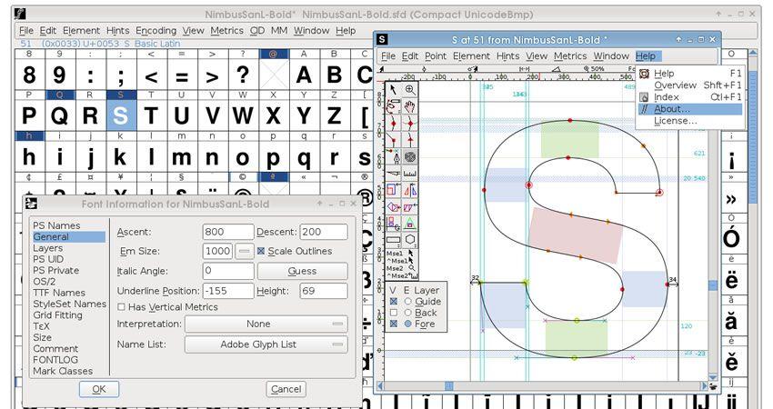 Aplikasi pembuat font 2