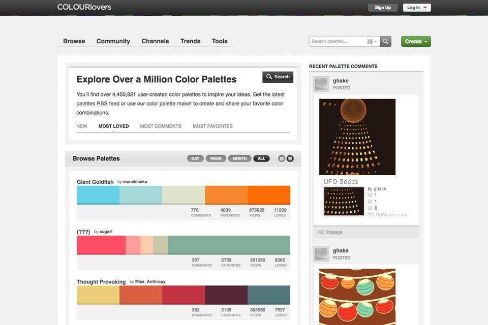 Inspirasi palet warna 3