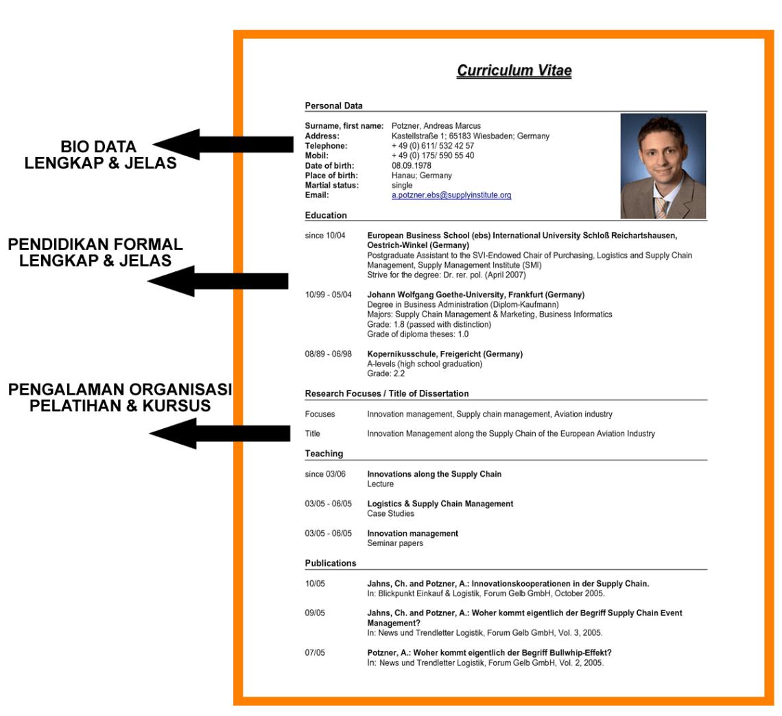 Perbedaan resume dan CV 1