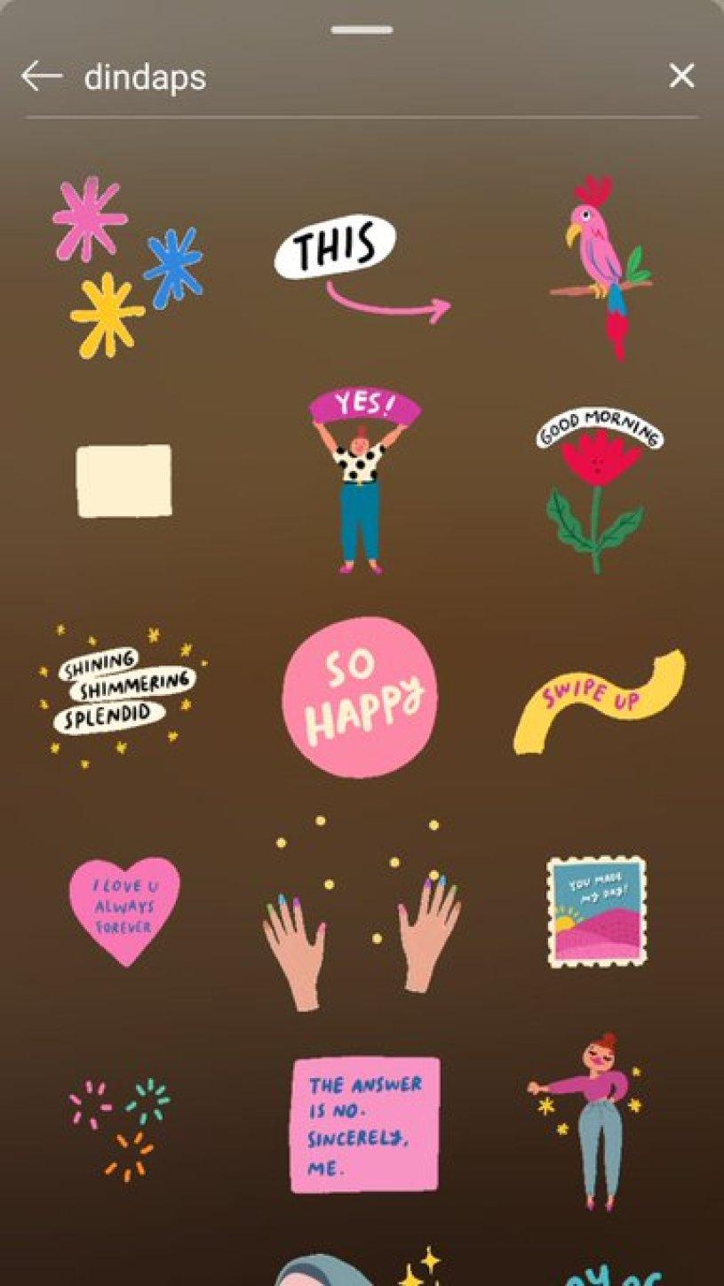 8 Nama Stiker Gif Instagram Stories Ini Bikin Kontenmu Makin Kece