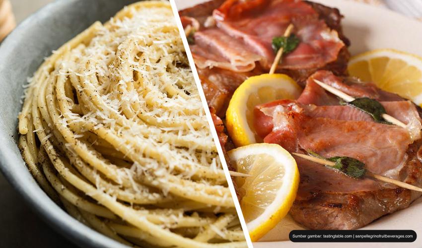 makanan khas Roma wajib dicoba