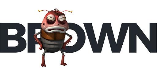larva-brown