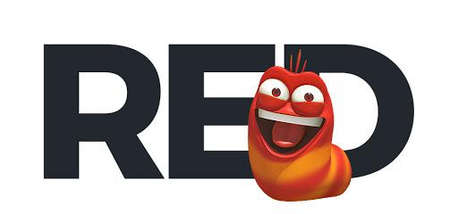 larva-red