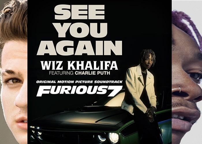 3. See You Again – Charlie Puth ft Wiz Khalifa-min