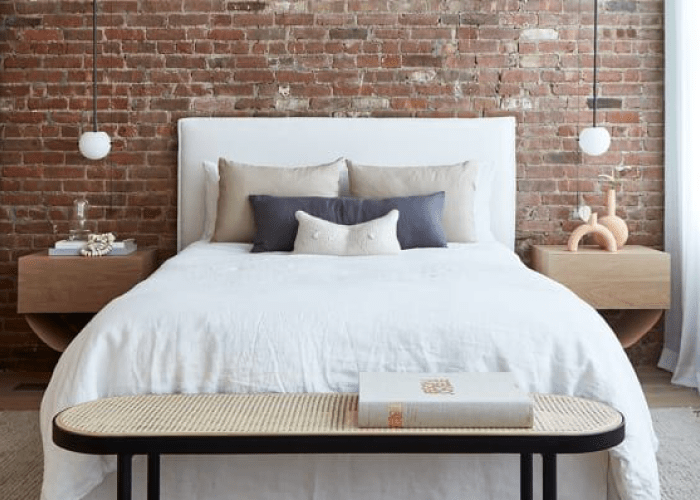 kamar tidur satu sisi minimalis