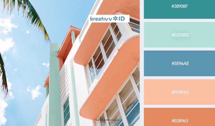 Kombinasi Warna Cat Rumah Modern, Pas Buat Kamu yang Hobi ...