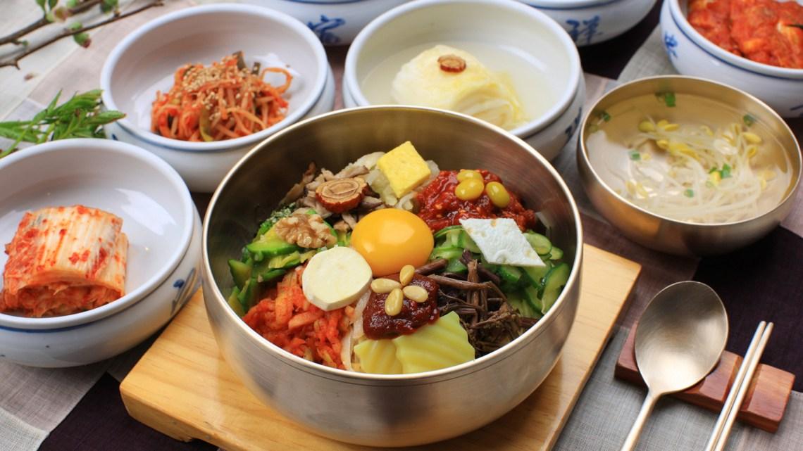 alat makan khas korea