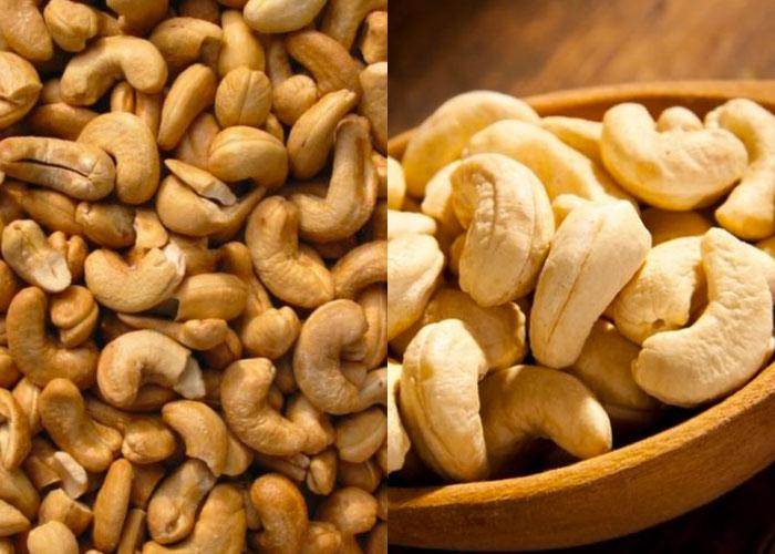 sajian kacang mete