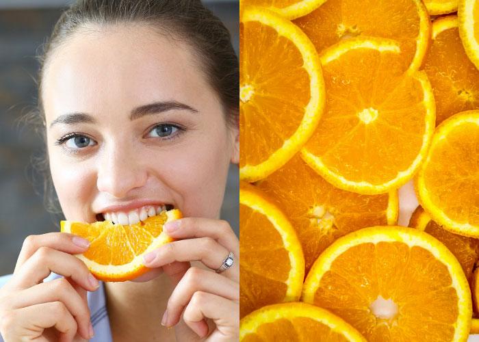 jeruk buah kaya vit. C