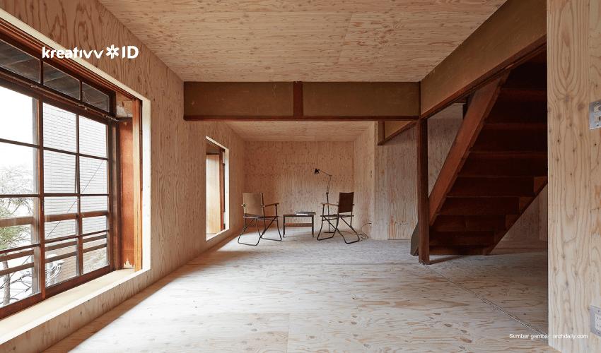 membangun rumah di lahan sempit