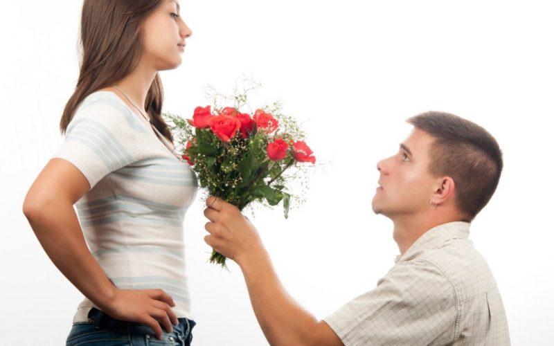 pasangan meminta maaf
