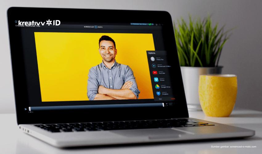 cara membuat screencast video
