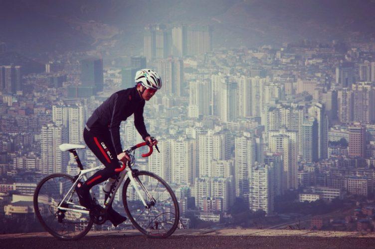 momen pembalap bersepeda