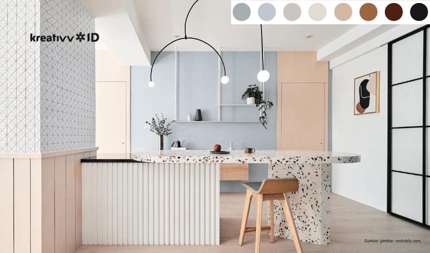 skema warna cat rumah