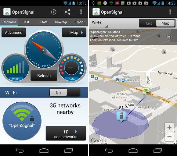 wifi analyzer terbaik OpenSignal