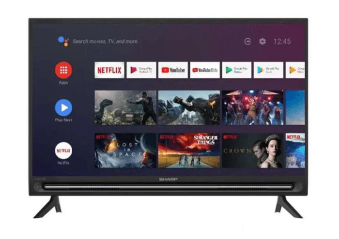 Sharp tv android
