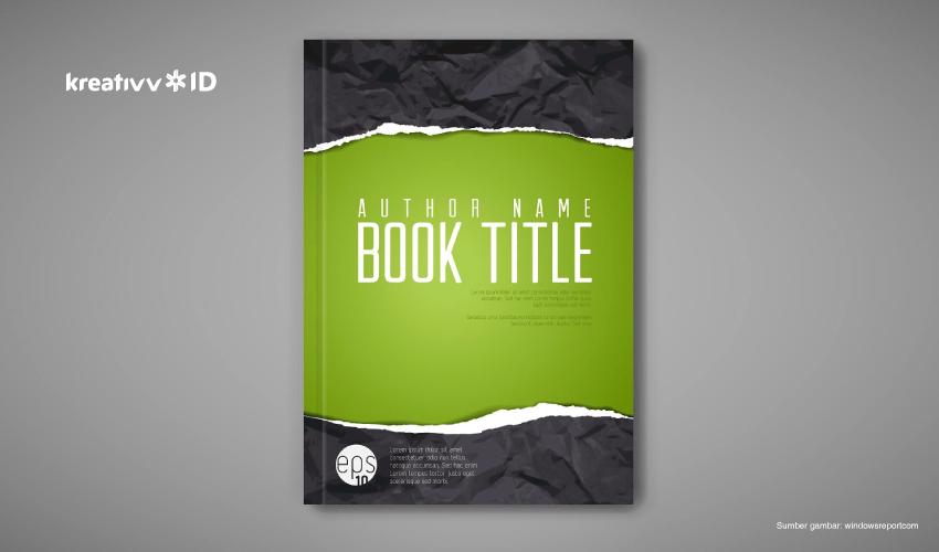 aplikasi mendesain cover buku
