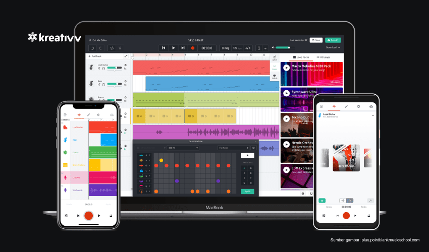 aplikasi membuat lagu