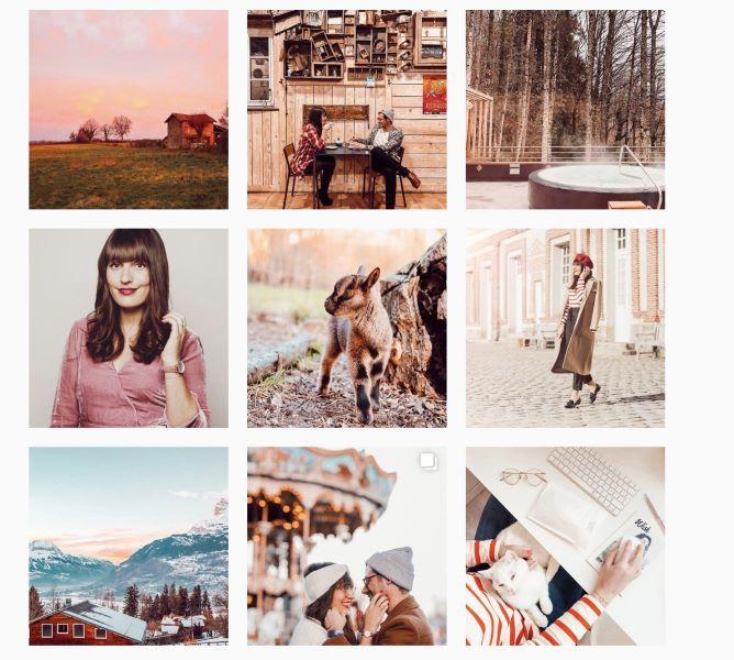 feed instagram pinky