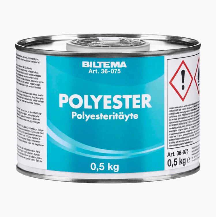 polyester bahan membuat fiberglass
